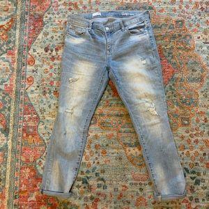 Gap 29R Distressed Jeans